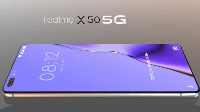 Realme X50 5G Smartphone first Look