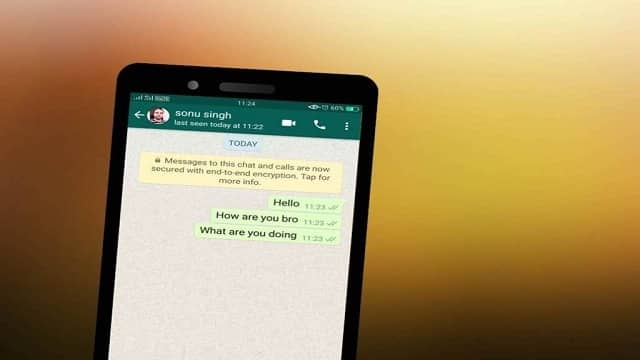 WhatsApp personal chats hide or archive