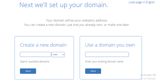 BlueHost Create Free Domain Name